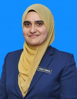 Pn. Farah Zamira binti Farush Khan